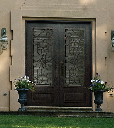 Barcelona 3qtr Standard Iron Door