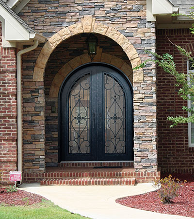 Roma Radius Iron Door