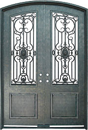 Memphis Steel Amp Iron Works Iron Doors Greystone Series