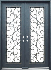 Seville rectangle iron door