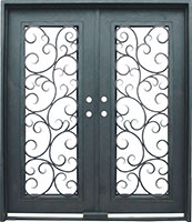 Seville Standard retrofit iron door