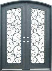 Seville segment iron door