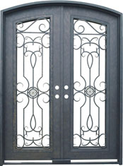 Barcelona segment iron door