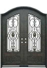 Special Eyebrow Iron door with Transom