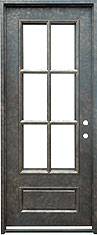 Monticello Standard iron door